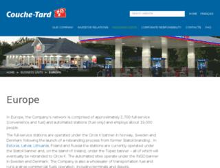 statoilfuelretail.com screenshot