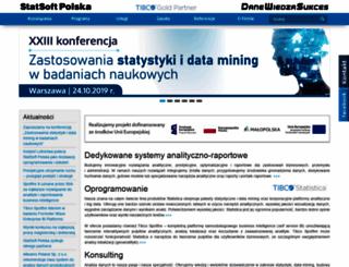 statsoft.pl screenshot