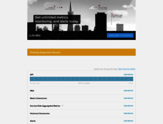 status.librato.com screenshot