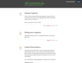 status.pastie.org screenshot