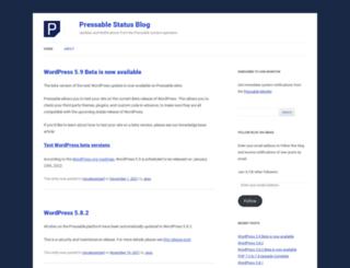 status.pressable.com screenshot