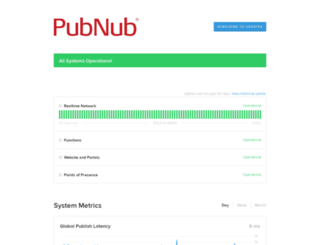 status.pubnub.com screenshot
