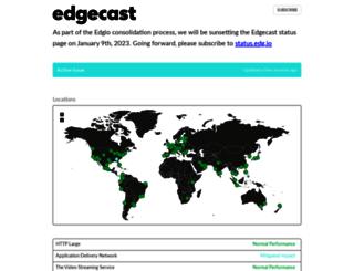 status.verizondigitalmedia.com screenshot