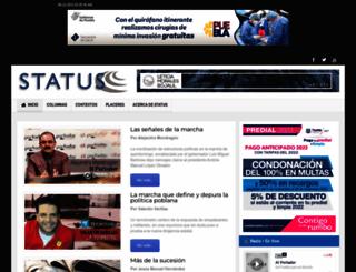 statuspuebla.com.mx screenshot