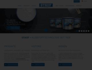 stauf.de screenshot