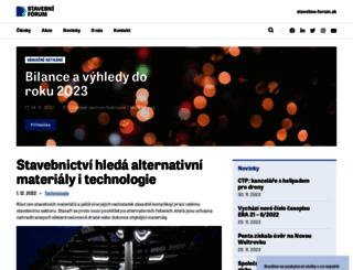 stavebni-forum.cz screenshot