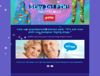stayinftw.grubhub.com screenshot