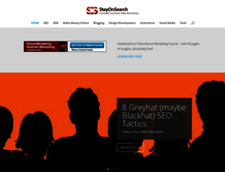 stayonsearch.com screenshot