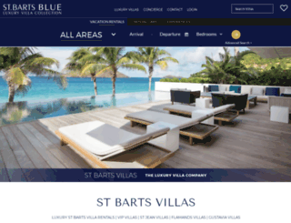stbartsblue.com screenshot