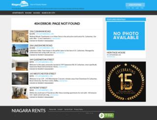 stcatharines.niagararents.com screenshot