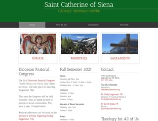 stcatherineslc.org screenshot