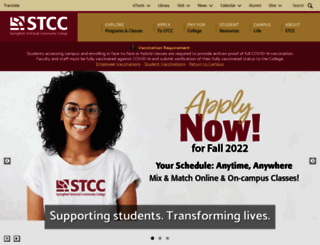 stcc.edu screenshot