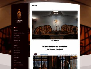 stconstance.org screenshot