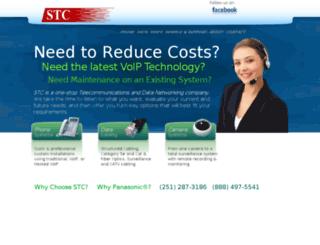 stcsolution.calls.net screenshot