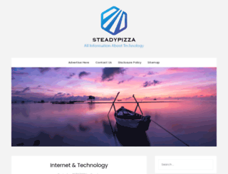 steadypizza.com screenshot