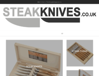 steakknives.ocassio.co.uk screenshot