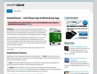 stealthandroidspy.com screenshot