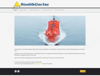 stealthgas.com screenshot