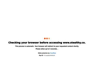 stealthy.co screenshot