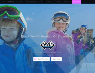 steamboat.blacktieskis.com screenshot