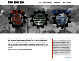 steamdrivenmedia.com screenshot