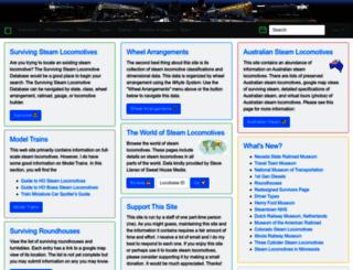 steamlocomotive.com screenshot