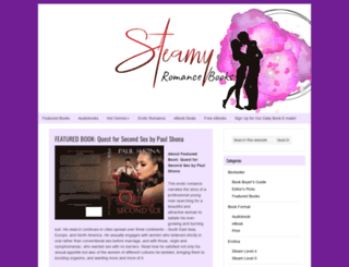 steamyromancebooks.com screenshot