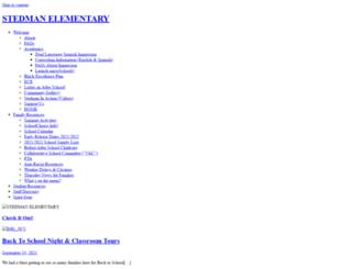 stedman.dpsk12.org screenshot