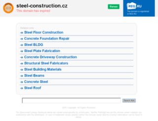 steel-construction.cz screenshot