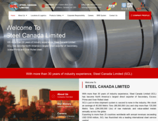 steelcanada.com screenshot