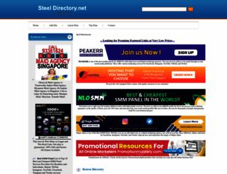 steeldirectory.net screenshot