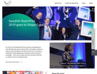 steelprize.com screenshot