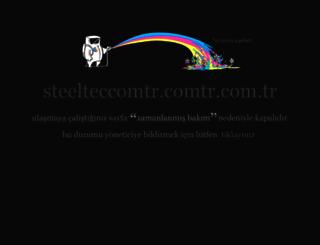 steelteccomtr.comtr.com.tr screenshot