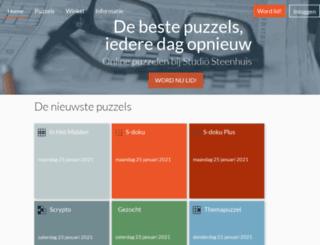 steenhuispuzzels.nl screenshot