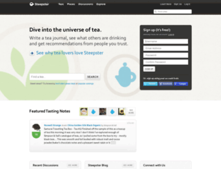 steepster.com screenshot
