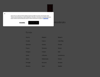 stefanel.com screenshot