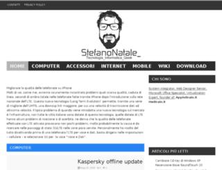 stefanonatale.com screenshot