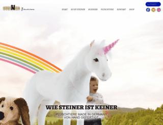 steiner-pluesch.de screenshot