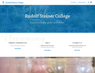 steinercollege.edu screenshot