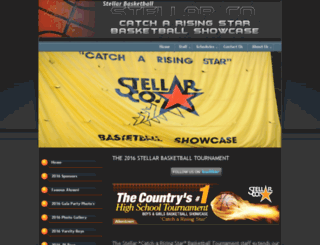 stellarbasketball.com screenshot