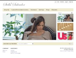 stellasalvador.com screenshot