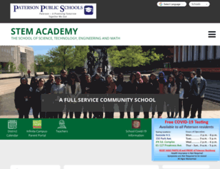 stem-pps-nj.schoolloop.com screenshot