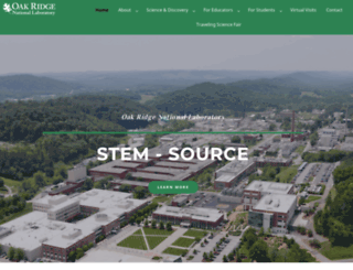 stem.ornl.gov screenshot