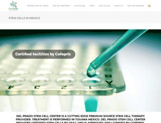 stemcellsinmexico.com screenshot