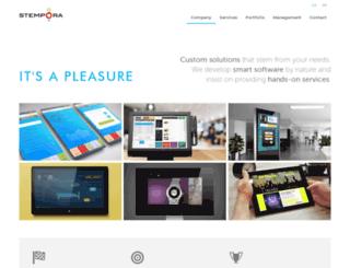 stempora.com screenshot