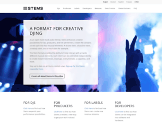 stems-music.com screenshot