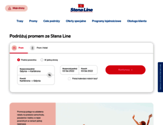 stenaline.pl screenshot