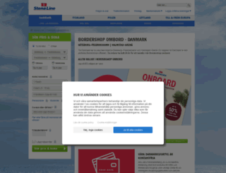stenalineshopping.se screenshot