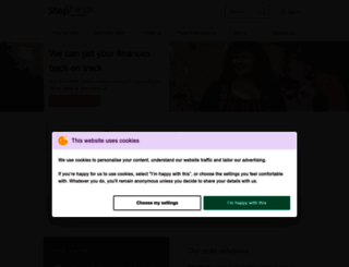 stepchange.org screenshot