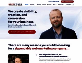 stepforth.com screenshot